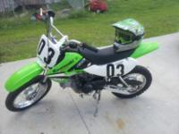 Im selling My son's dirt bike, he out grew it and needs