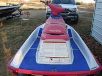 95 polaris 2 seat jet ski for sale or possible trade..