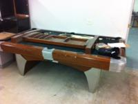 American Heritage Billiards pool table with matching