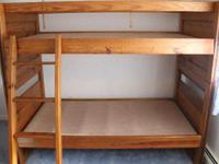 THIS END UP BUNK BED furniture set is in attractive