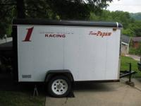 Aluminum enclosed trailer in great condition. Pulls
