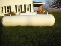 1,000 gallon propane tank in good condition  Location: