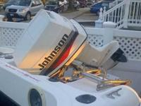 60hp Johnson Outboard Clean Great Runner with