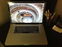 "Up for sale is my MacBook pro 17"" (Apple is no longer"