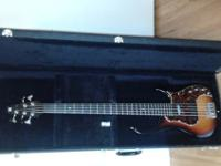 M 92 5-string bass from Modulus Graphite. I bought it