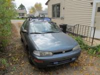1994 Geo Prism 195,000 miles 5 Speed manual 1.6L. Used