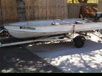 14' aluminum Starcraft for sale. This boat has no holes