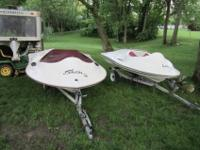 I have 2 1999 Sea Skate boats for sale. One is complete
