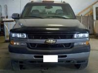 2001 Chevrolet 3500 4-door Dually DieselThe body is
