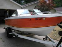 1974 AMF Crestliner with ajustable trailer and 85 horse