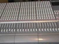 Tascam M-2600 32 channel x eight bus Mixing Console two