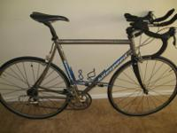 I have a Litespeed Firenze with full Ultegra and