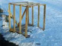 "I have 22 pallets constructed from 4""W'x4'Lx4'H pallets"
