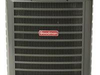 A GOODMAN Central Air Conditioner 1 1/2-Ton=18000 Btu.