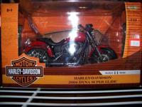1/10 Scale Harley Davidson 2004 Dyna Super Glide. Can