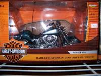 2004 Harley Davidson Softail Deuce. 1/10 Scale. Can be