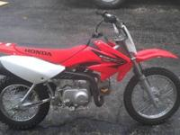 Very clean and low hour 2005 Honda crf 70. Runs great