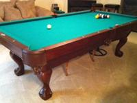 MUST sell my Brunswick Pool Table - Contender Series --