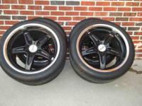 I'm selling a set of four Moda wheels along with the