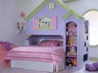 The Tradewins Doll House Loft Bed Transforms bedtime