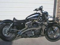*** BIKE NOT FORSALE *** Set of Sportster tins, gas