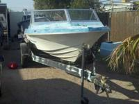 THIS IS A PROJECT BOAT but not a huge project. IT RUNS