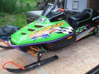 Selling my 1996 Arctic Cat 580 ZR liquid cooled, It
