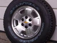 New 2013 Chevy Silverado 1500 Pickup 6-lug 17'' Alloy