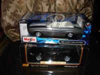 I'm selling the following cars in 1/18 scale: Estoy