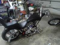 59 triumph custom chopper motor is 59 t110 all new