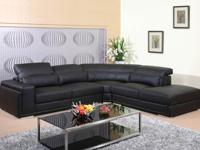 UTM 3pcs Modern sectional leather sofa set will