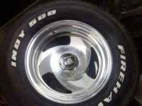 15in 1/2 ton chevy rims and tires 200.00 obo or trade