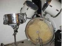 partial drum kit(no, cymbals but great drums) - $125