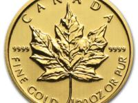 1/20 oz Misc. Year Canadian Maple Leaf $ 1 Gold Coin