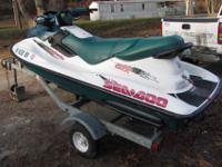 I have a 1996 Sea-Doo Bombardier with Hustler trailer