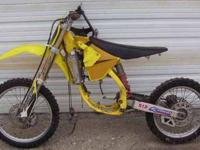 I am selling this 2002 rm 125 motocross motorcycle. It