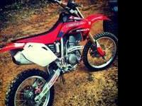 i got a 2007 crf150f asking 1200 cash or trade to a