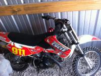 We are selling a 2008 KLX110. You can contact us with