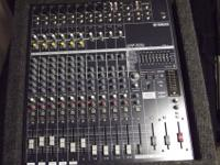 I have a Yamaha EMX 5014c powered sound board (729.99