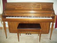 Kimball Console Piano needs a good home! I am only the