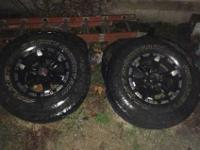 I have a set of wheels and tires that I want to get rid