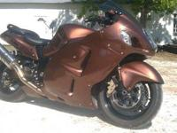 UP FOR TRADE OR SALE IS MY 2005 HAYABUSA WITH 8600miS