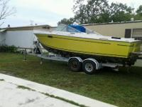 I sale or trade my 1977 formula powerboat (tunderbird)