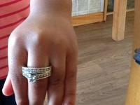 Up graded my wife ring so this one is for sale brought