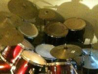 must sell need a work truck 17 piece mixed Pearl drum