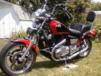?1987 Honda VT1100 Shadow. Rebuilt top and lower end,