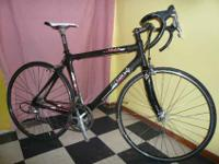 PRO SERIES ROAD BIKE, ZEUS CAT CARBON FLAT TOP 49cm