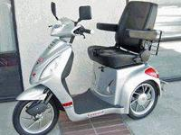 Three wheel, fast electric mobility scooter, fifteen