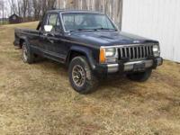1986 Jeep Comanche 4x4 4WD. V6, AT (automatic