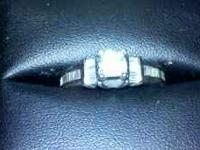 i have a 1.26 ct 14k white gold Engagement ring Diamond